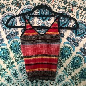 UO Striped Knit Tank Top